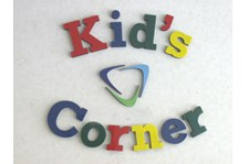 Dimensional Wall Letters with Kid